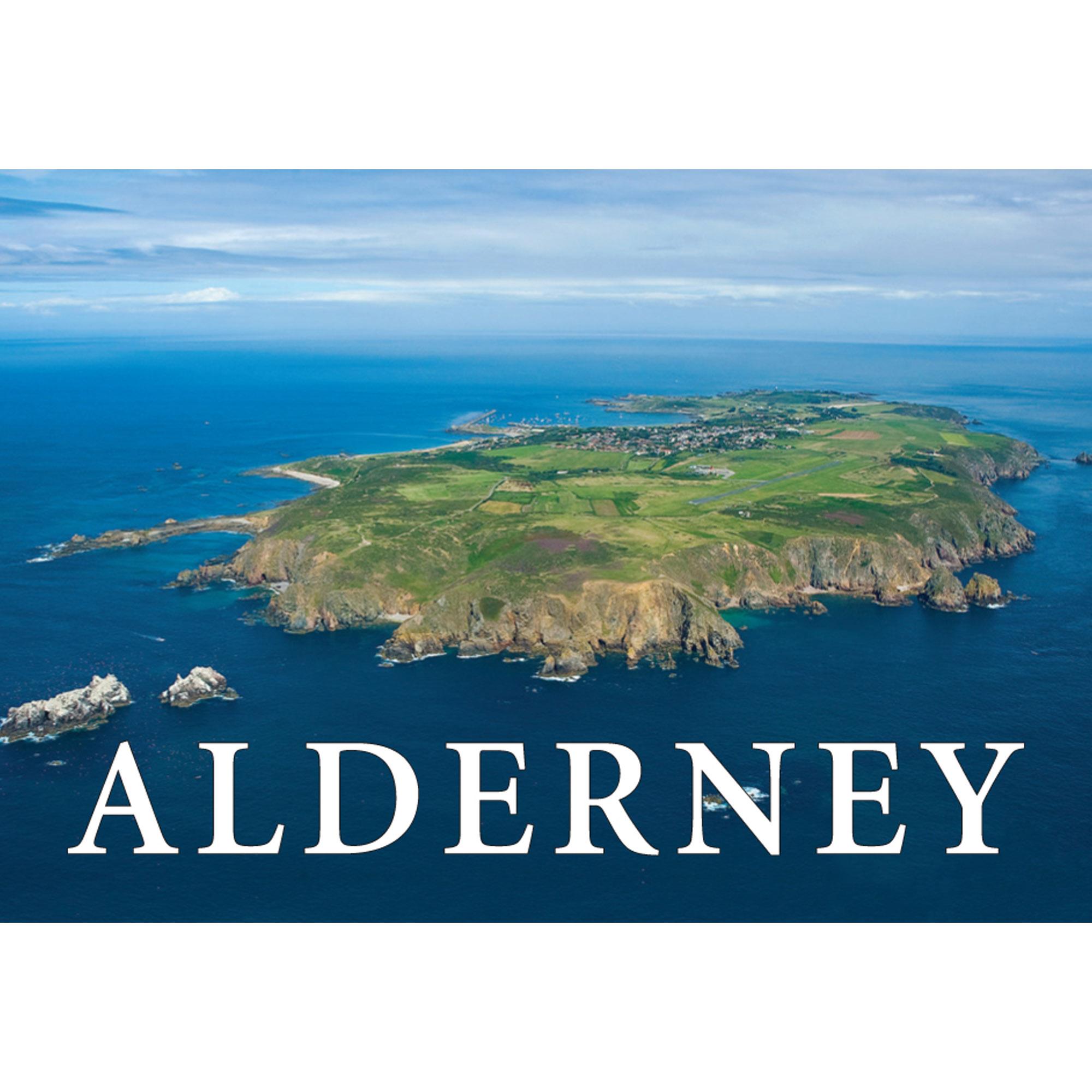Alderney fridge magnet