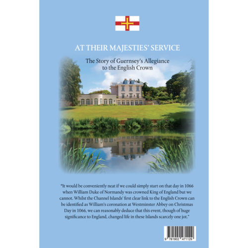 At Their Majesties' Service - back cover