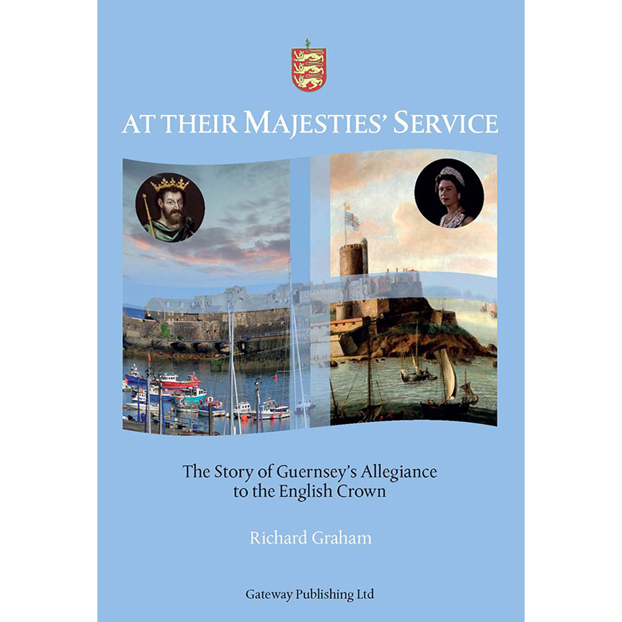 At Their Majesties' Service - front cover