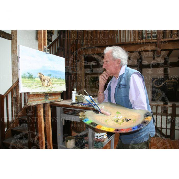 David Shepherd painting