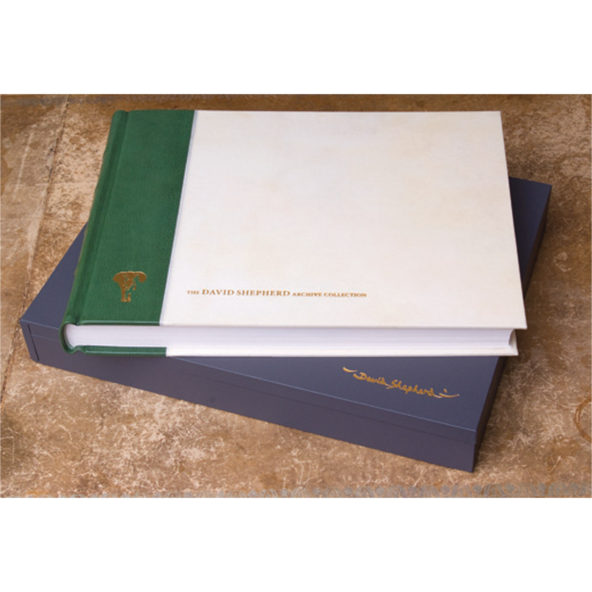 The David Shepherd Archive Collection book & solander box
