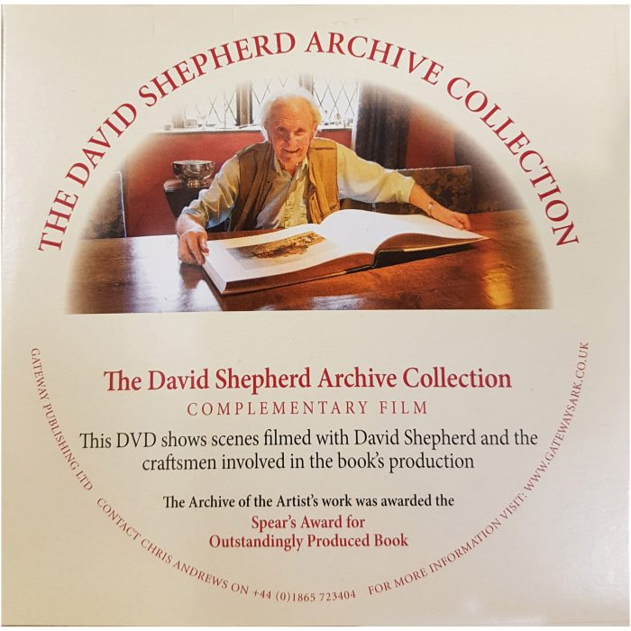 DVD to accompany the David Shepherd Archive book