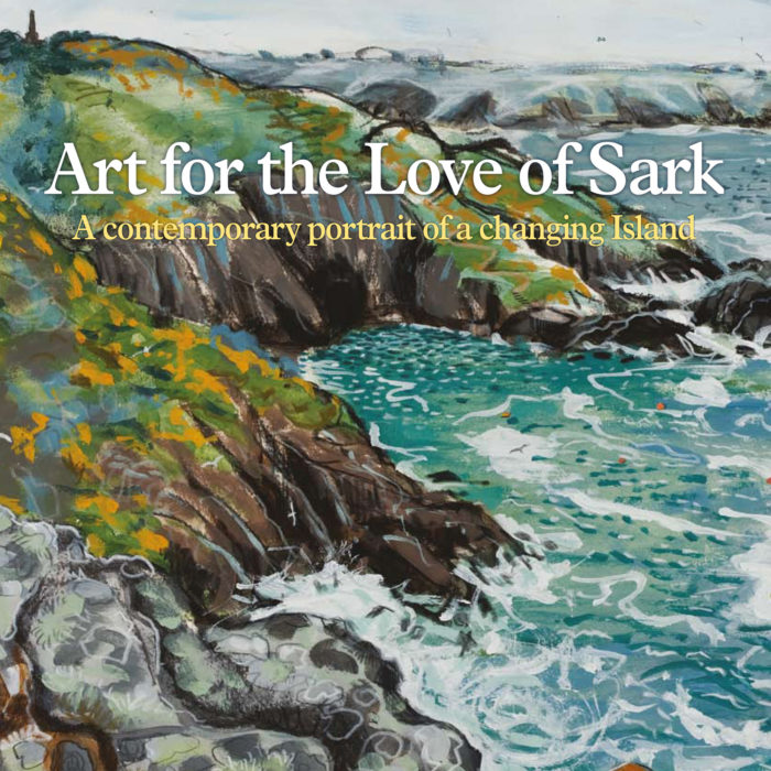 Art for the Love of Sark - front cover