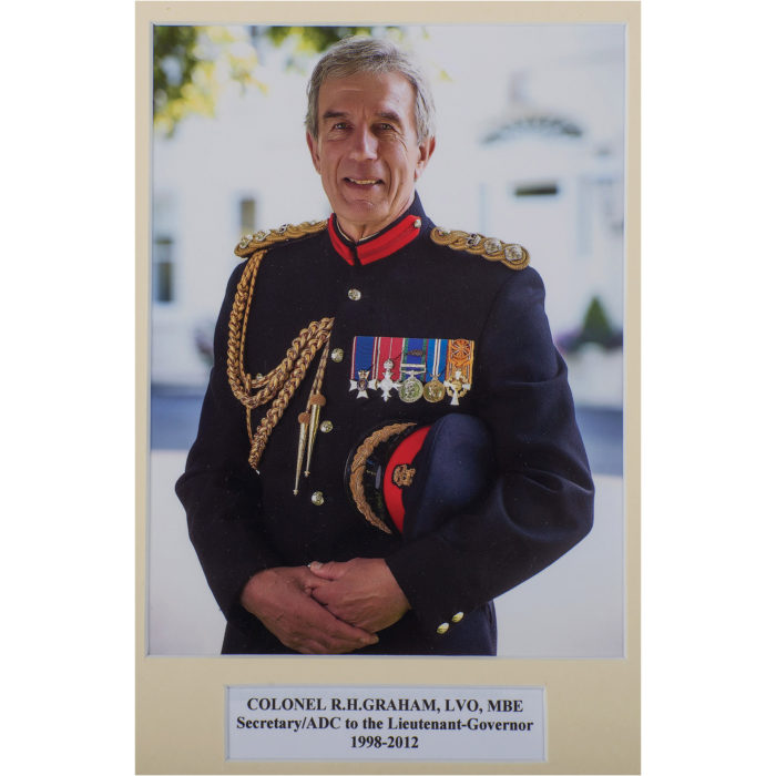 At Their Majesties' Service - Richard Graham