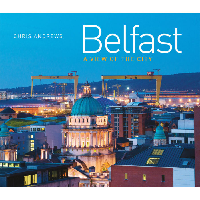 Belfast a view of the city - front cover