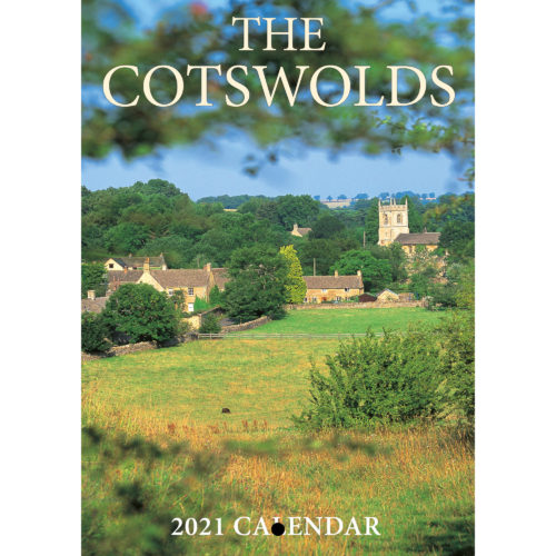 2021 Cotswolds A5 calendar - front cover