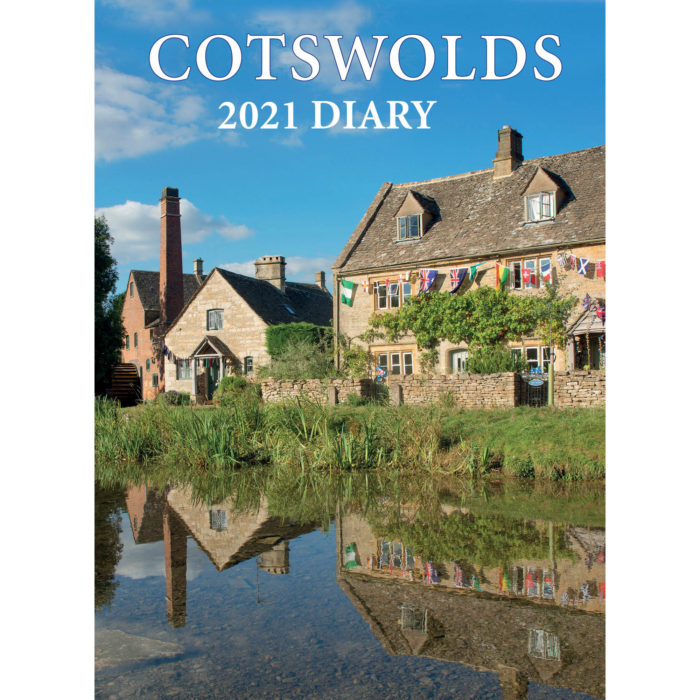 2021 Cotswolds diary - front cover