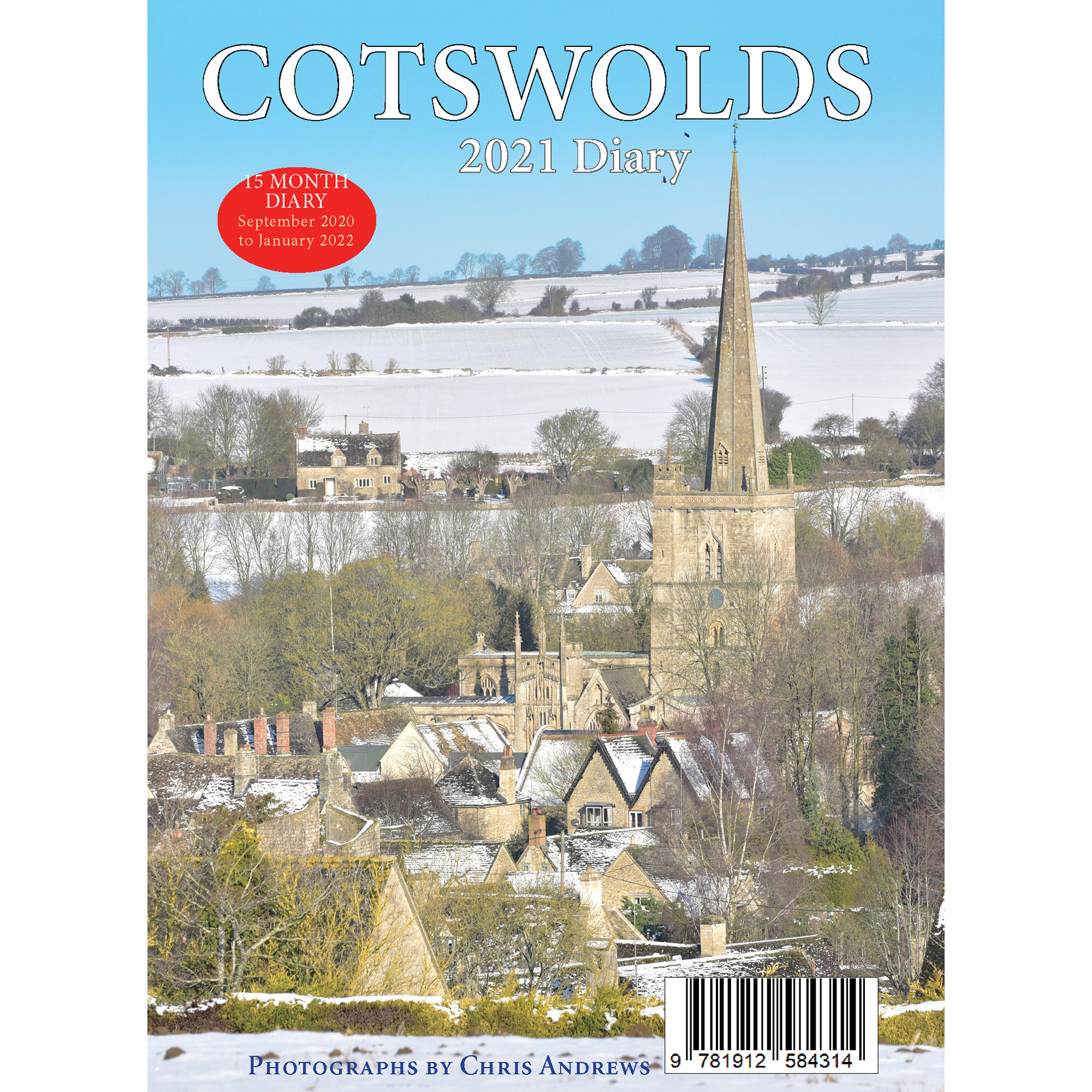 2021 Cotswolds diary - back cover