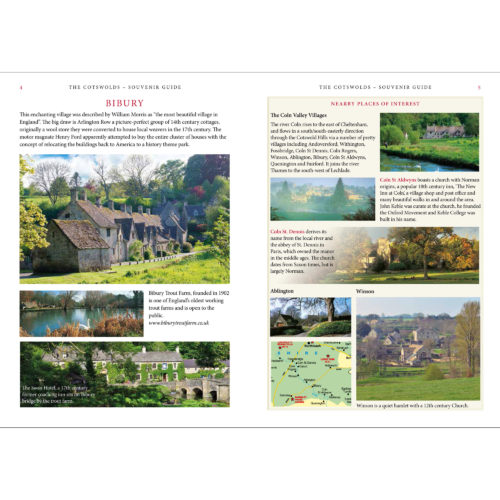 The Cotswolds Souvenir Guide - inside spread