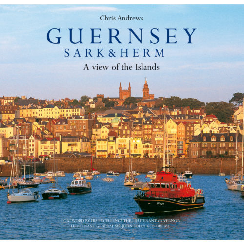 Guernsey Sark & Herm book - front cover