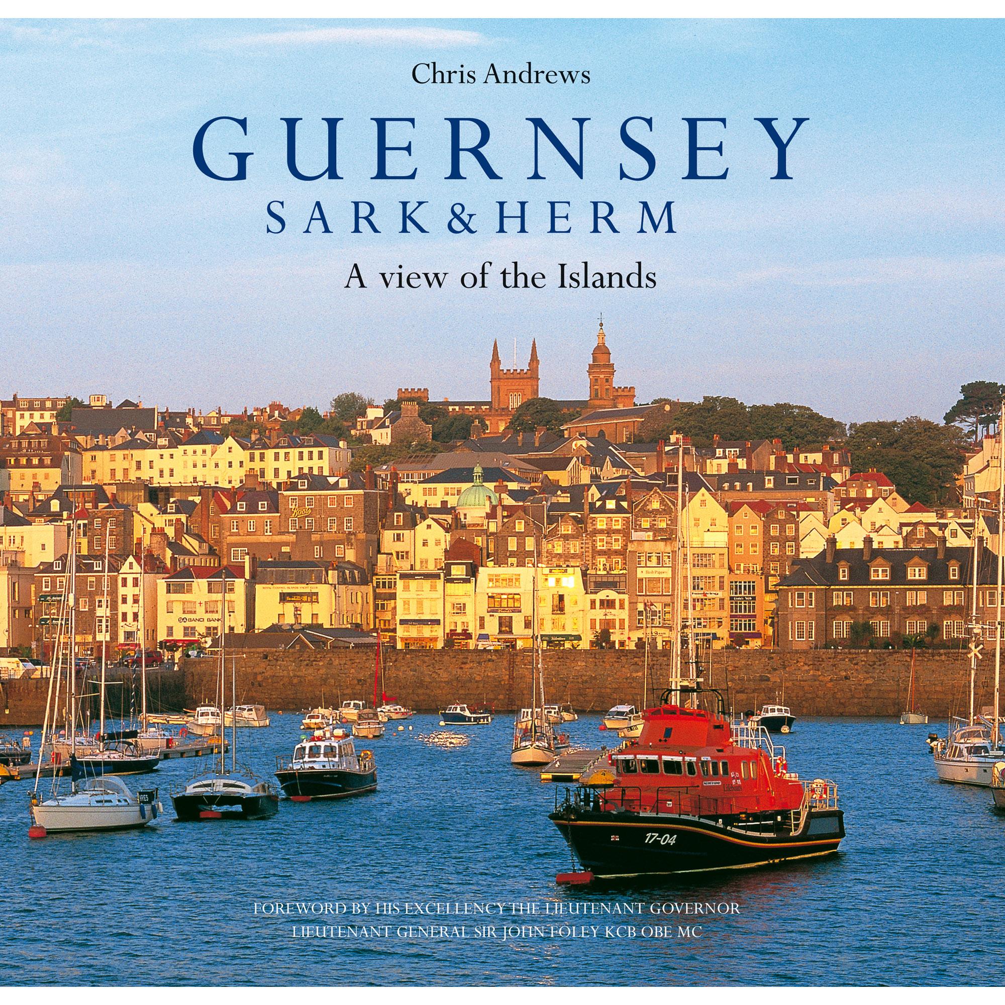 Guernsey Sark & Herm book - front cover