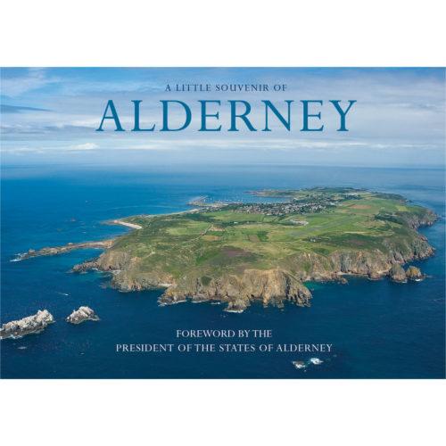 Alderney a little souvenir - front cover