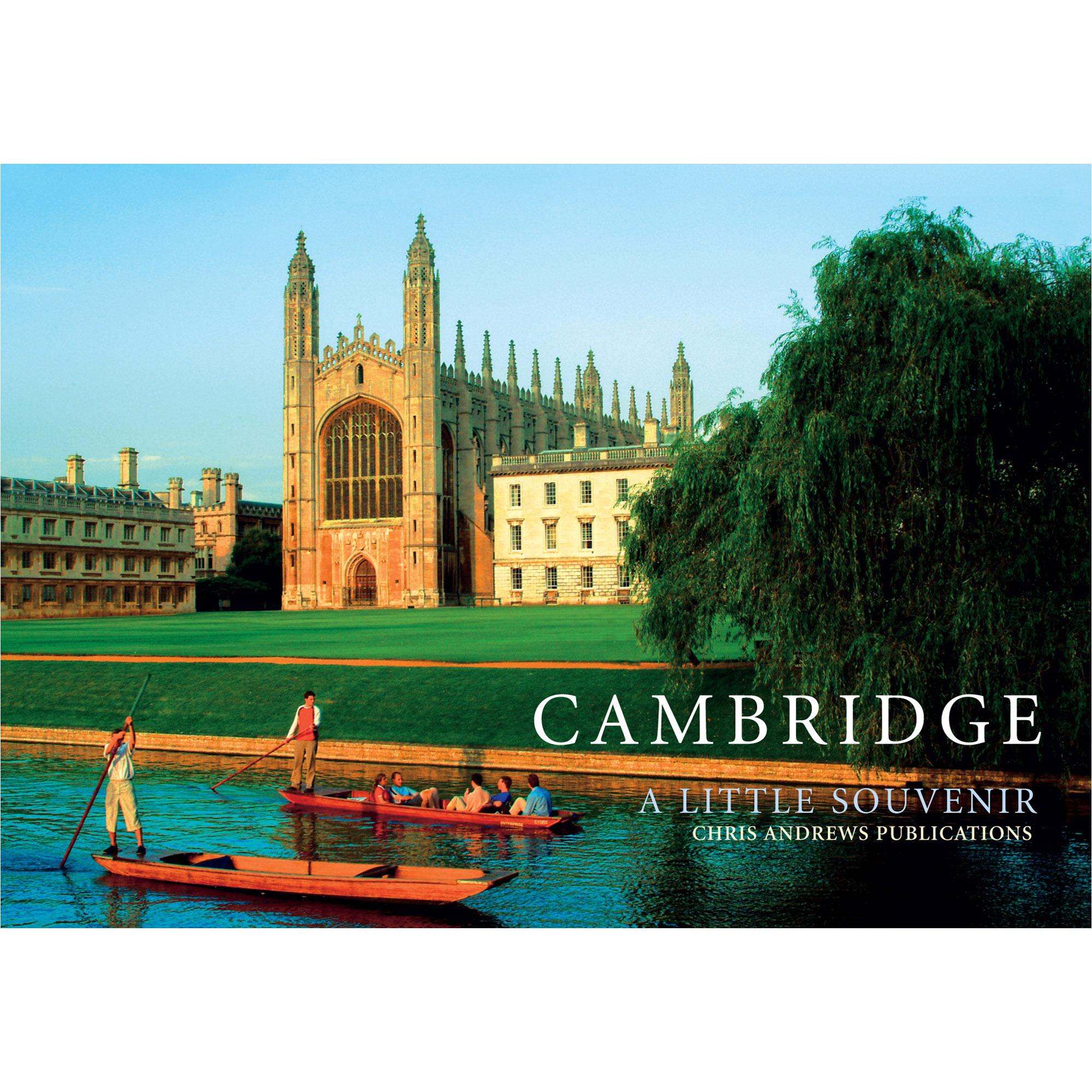 Cambridge a little souvenir - front cover