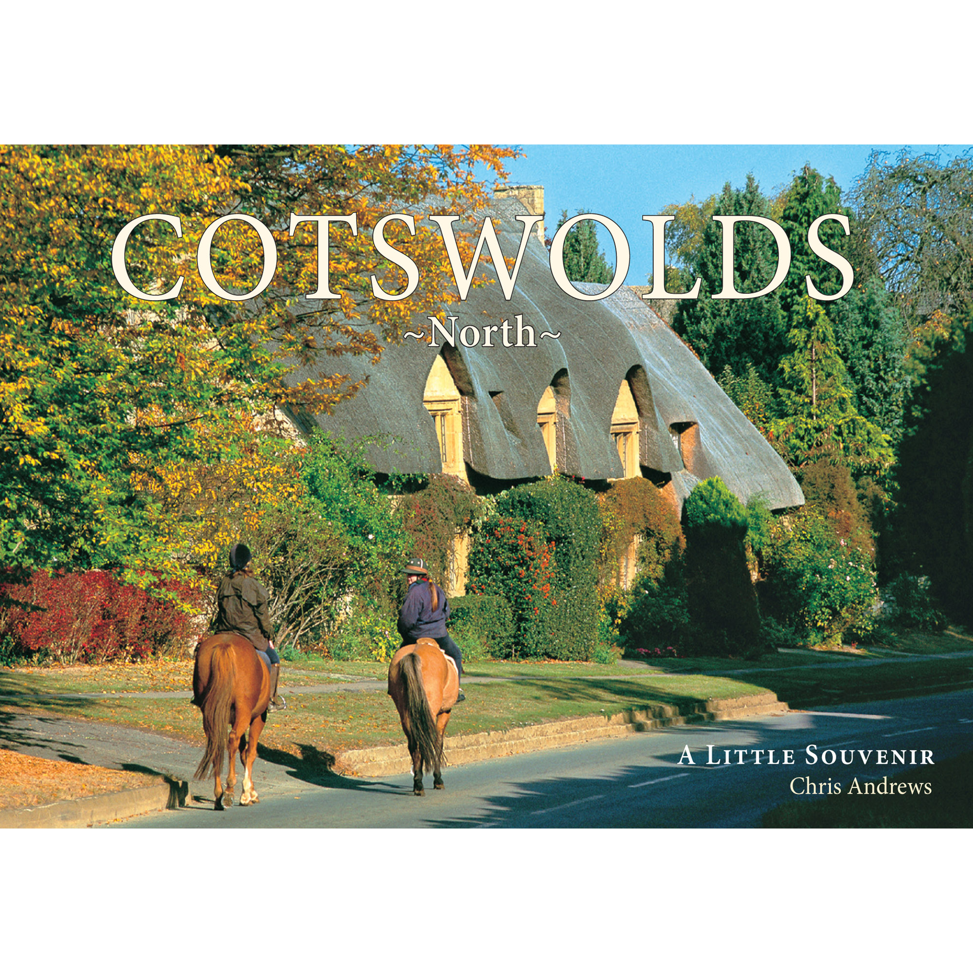 Cotswolds North a little souvenir - front cover