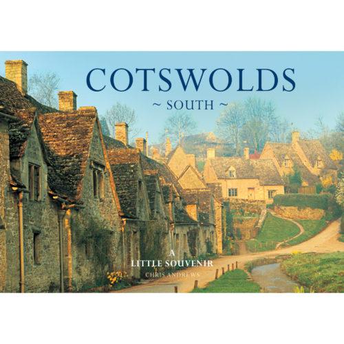 Cotswolds South a little souvenir - front cover