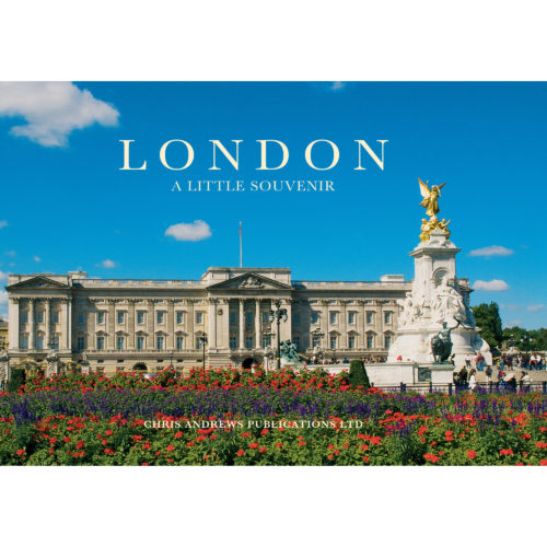 London a little souvenir - front cover