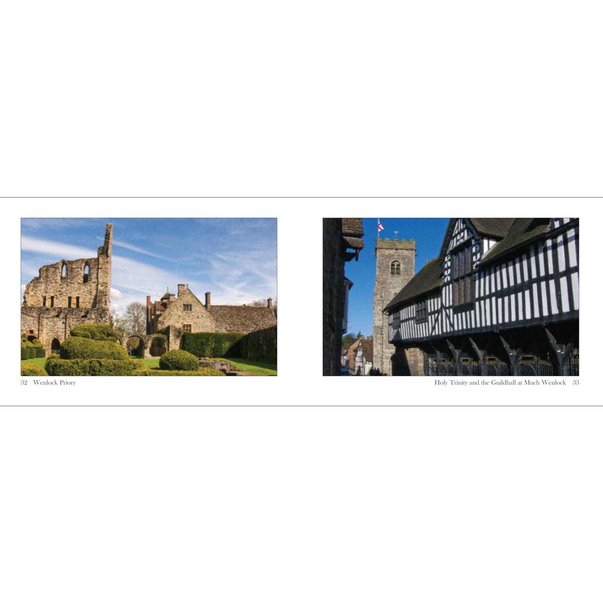 Ludlow & Shropshire a little souvenir - spread