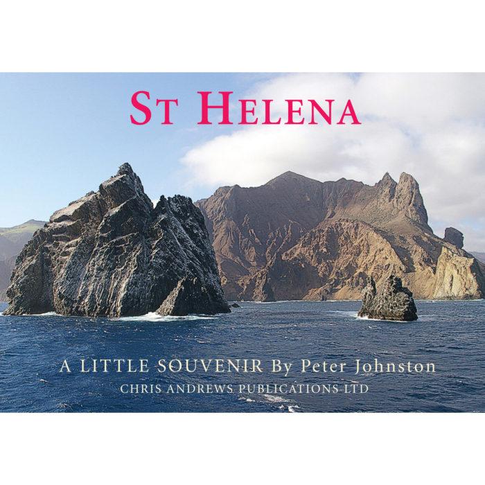 St Helena a little souvenir - front cover