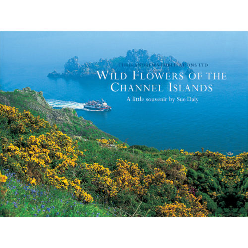 Wild Flowers of the Channel Islands little souvenir book - front cover