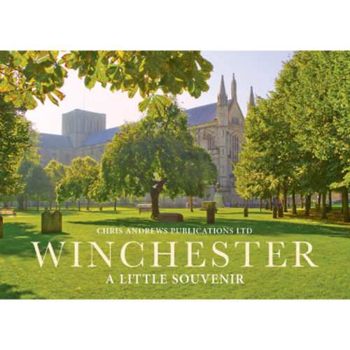 Winchester a little souvenir book - front cover