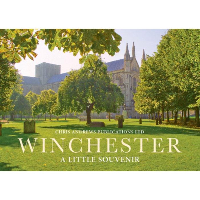 Winchester a little souvenir book - front cover