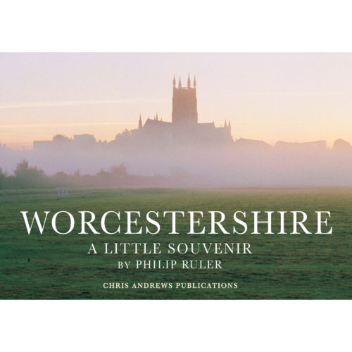 Worcester a little souvenir book - front cover