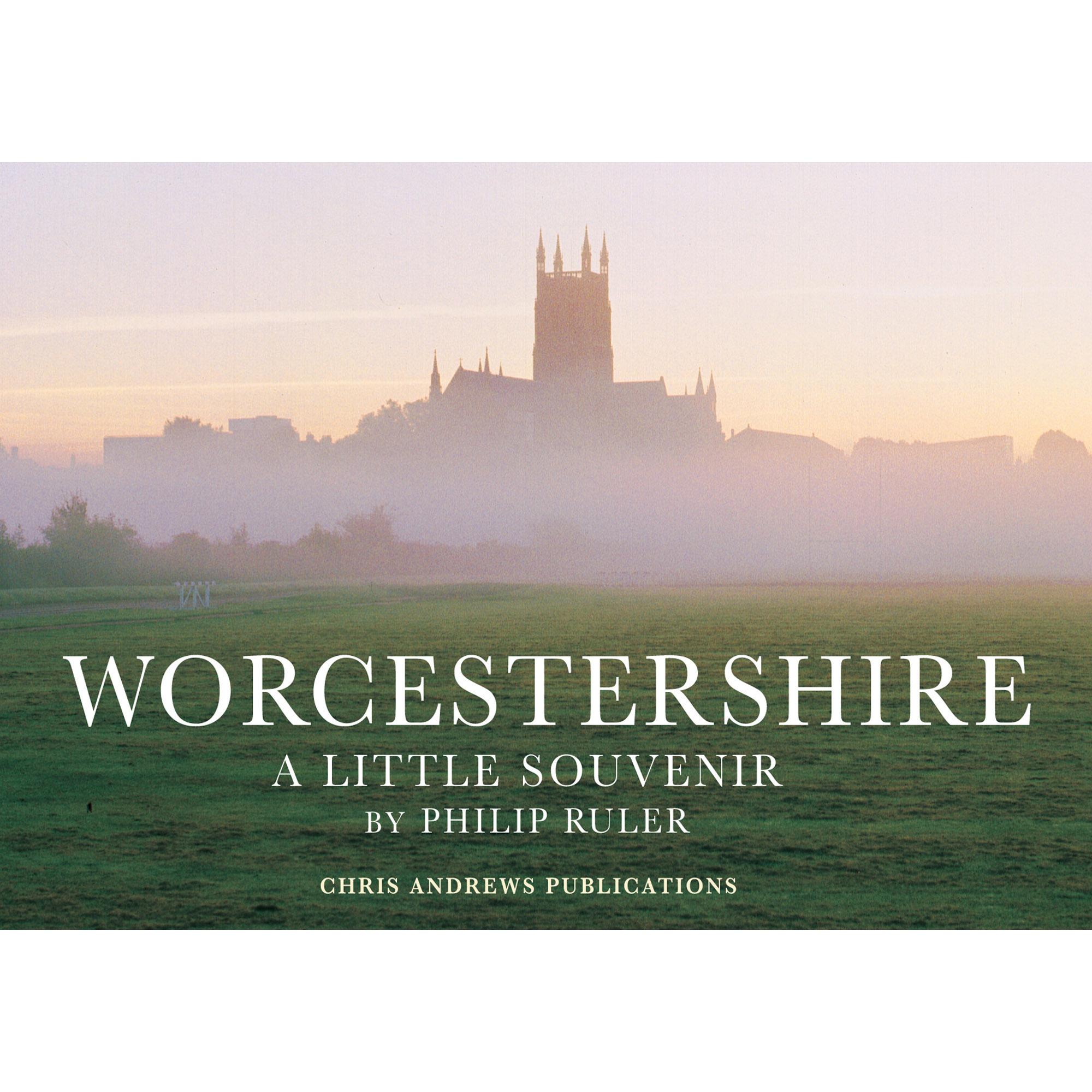 Worcester a little souvenir book - front cover
