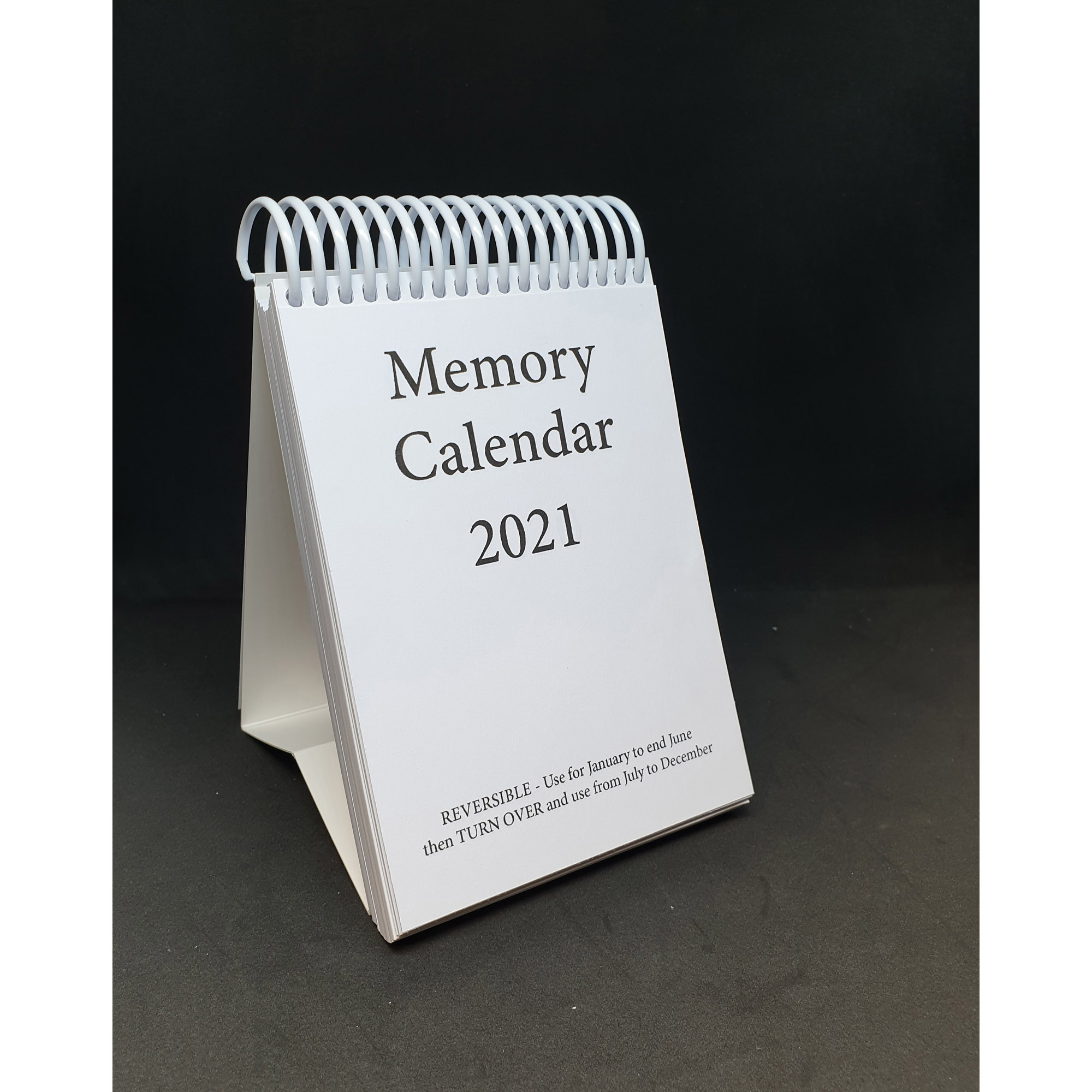 2021 Memory calendar - standing