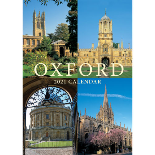 2021 Oxford A5 calendar - front cover