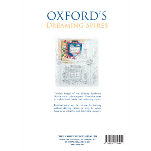 Oxford Colour Book - back cover