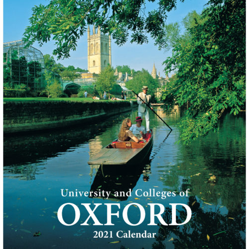 2021 Oxford Colleges calendar - front cover