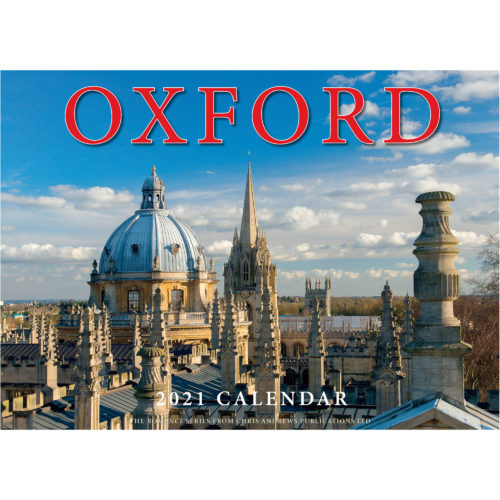2021 Romance of Oxford calendar - front cover