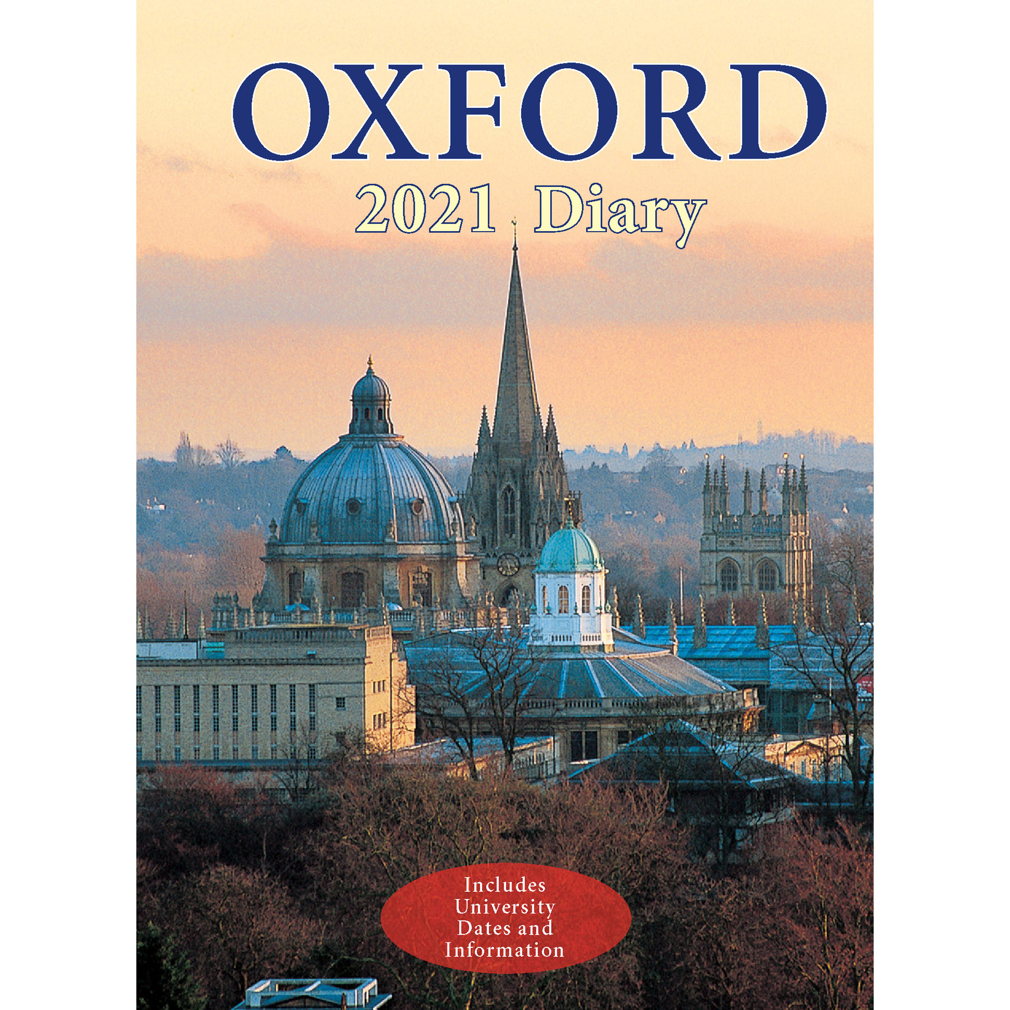 2021 Oxford diary - front cover