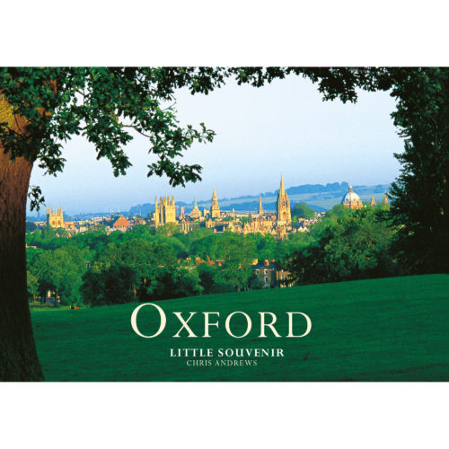 Oxford a little souvenir - front cover