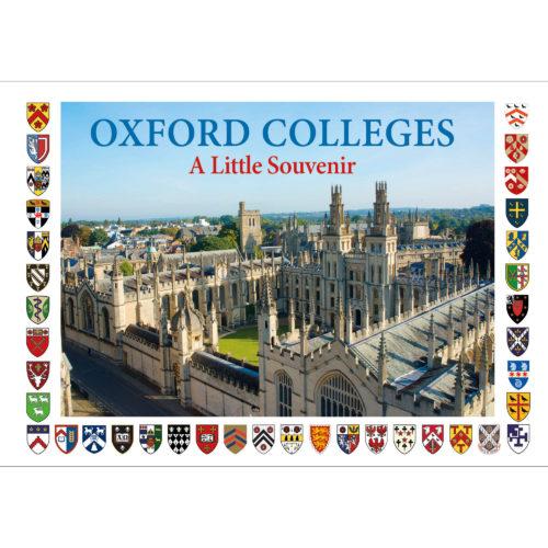 Oxford Colleges a little souvenir - front cover