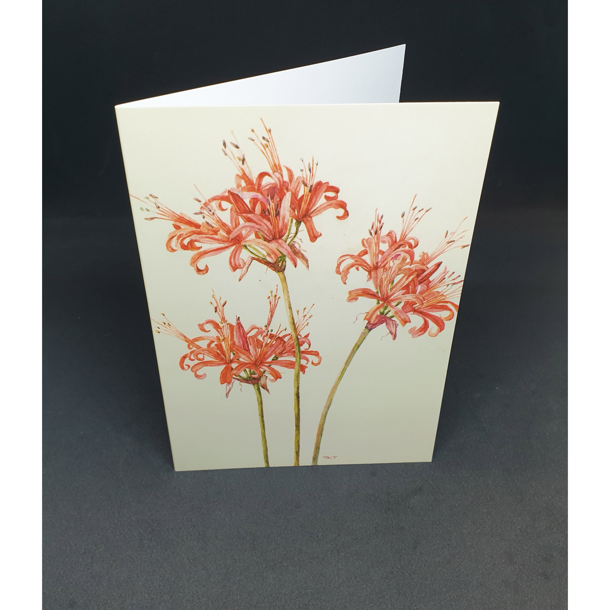 The Tait Florilegium folding notecard