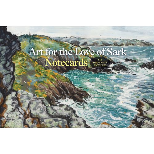 Art for the Love of Sark folding notecard wallet