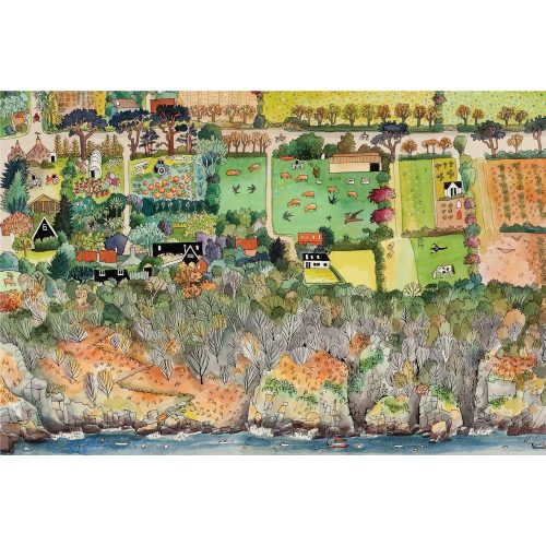 Art for the Love of Sark folding notecard