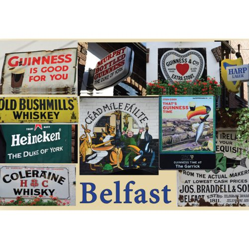 Belfast fridge magnet