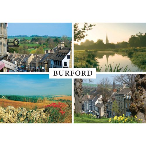 Cotswolds fridge magnet