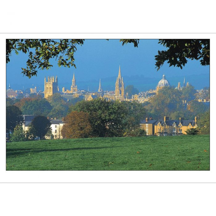 Oxford spires folding card
