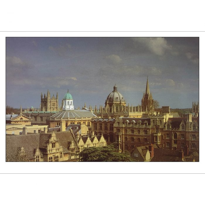 View from Trinity College Oxford folding card