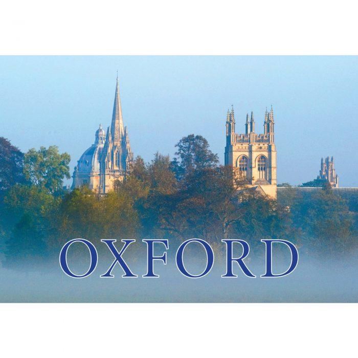 Oxford fridge magnet