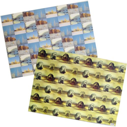 Oxford wrapping paper
