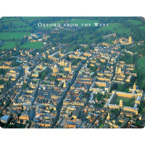 Aerial view of Oxford mouse mat