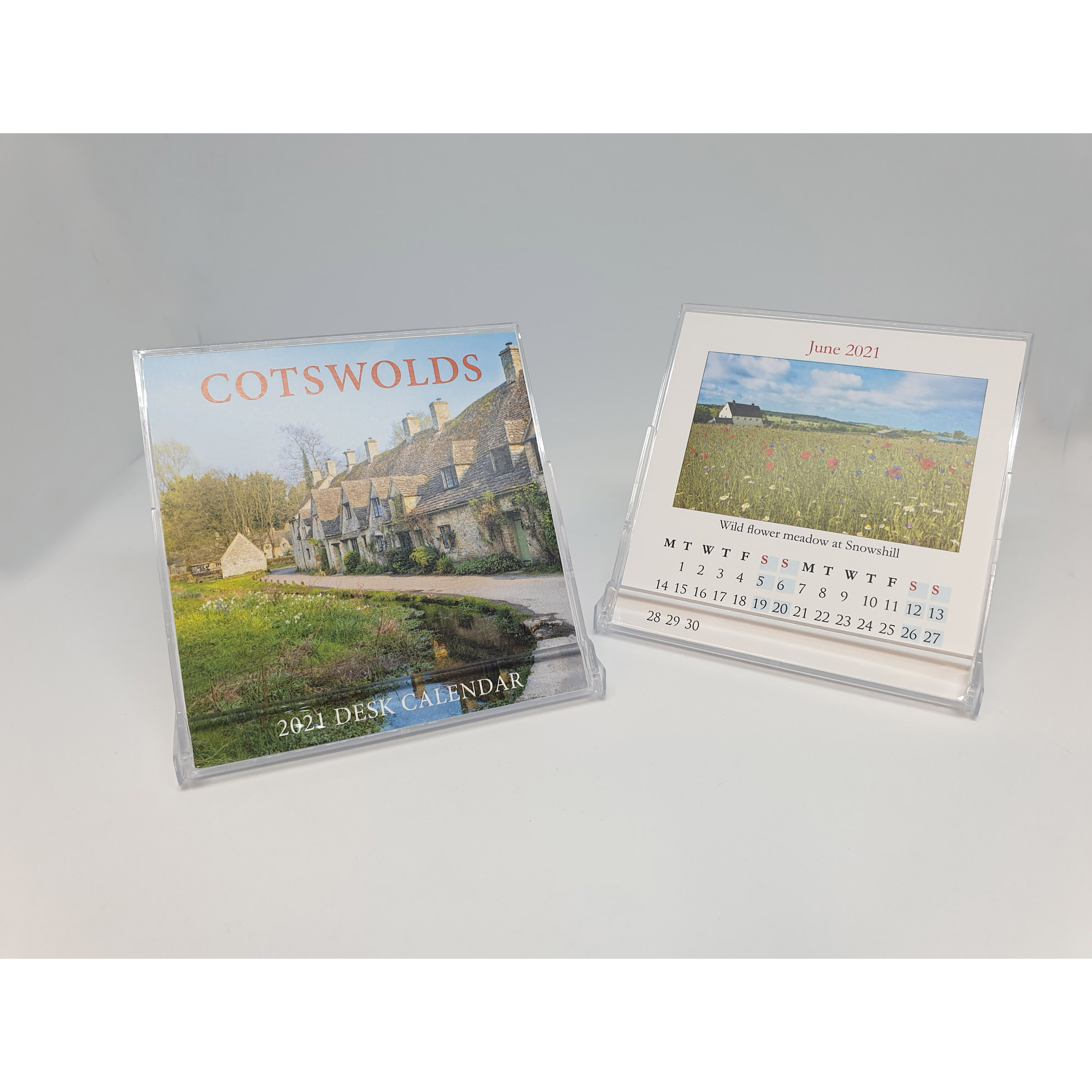 Open Cotswolds mini desktop calendar