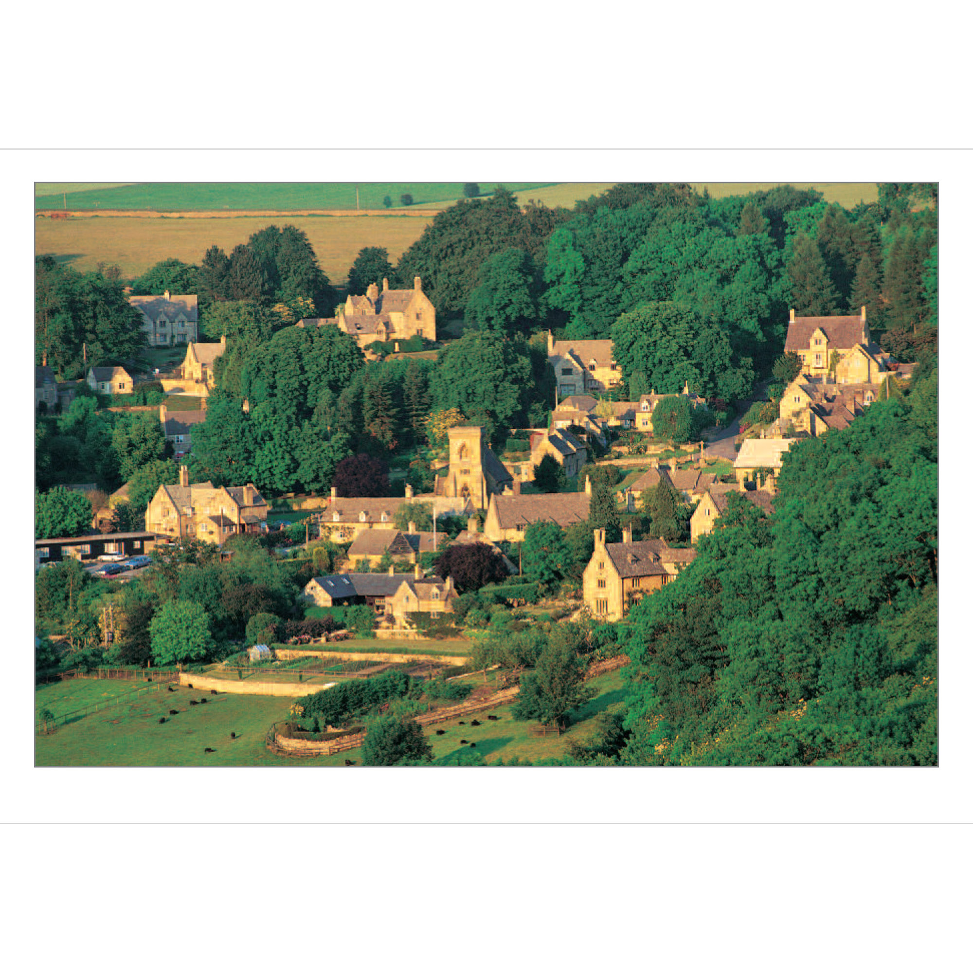 Snowshill Cotswolds folding card