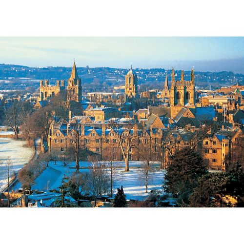 Oxford spires winter folding card