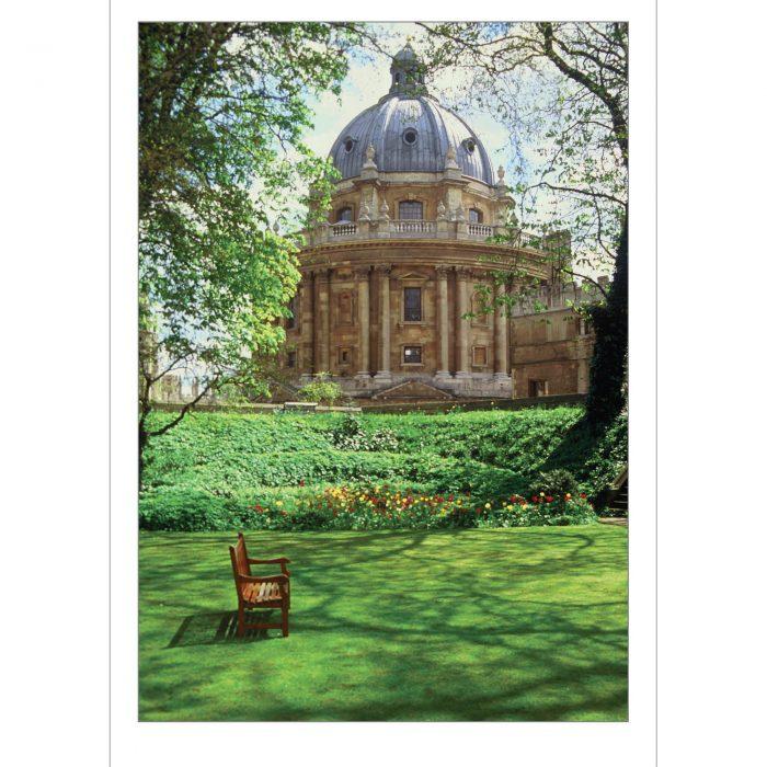 Radcliffe Camera Oxford folding card
