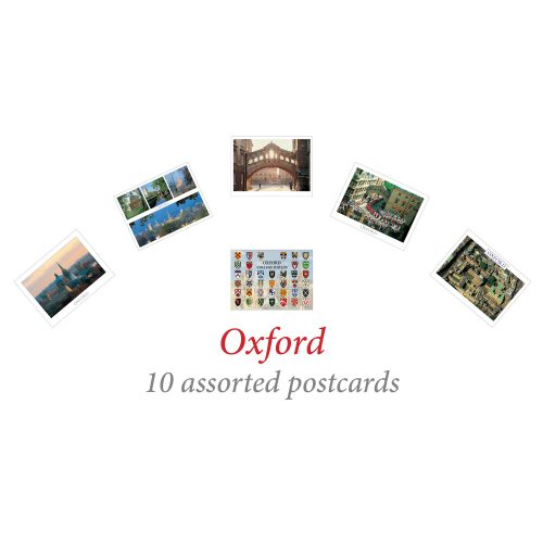 10 assorted Oxford postcards